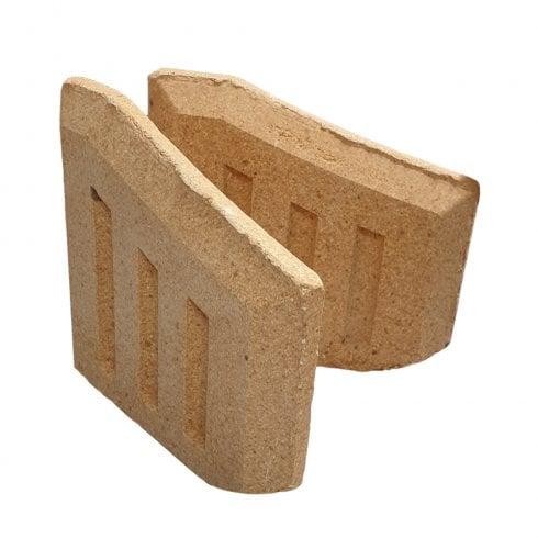 Your DIY Shop Coal Saver Fire Bricks Sides (Sold as a Pair)