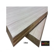 "Construction Marine (LW)* Plywood BS1088 Marine Grade - 1220mm X 605mm (48"" X 24"")/(4.00ft x 1.98ft)"