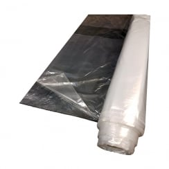 Decorators Polythene Sheeting 4 x 50M x Medium Duty Clear
