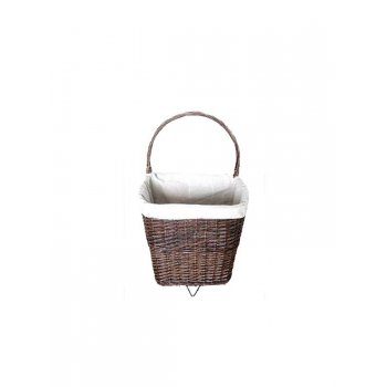 Your Diy Shop DEVILLE NAT WICKER FIRELOG BASKET ON WHEELS