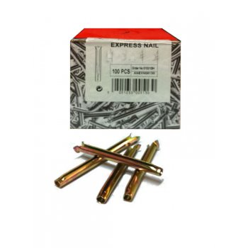 Your DIY Shop Express Nails M6 x 60mm - Box of 100 - (Quick Anchors)