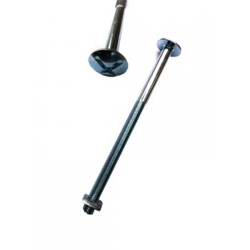 Fence Bolt & Square Nut M8X160mm (Roofing Bolt)