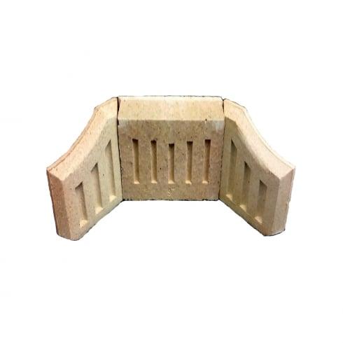 Your Diy Shop Fire Brick Set - Coal & Log Saver
