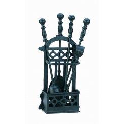 Fireside Companion Set Victorian Basket Style