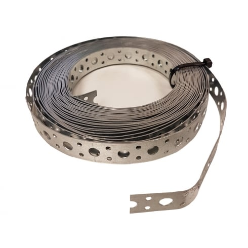 Your Diy Shop Fixing Band/Multi Purpose Galvanised Strapping 1MM x 10 Metres (20mm & 50mm)
