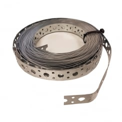 Fixing Band/Multi Purpose Galvanised Strapping 1MM x 10 Metres (20mm & 50mm)