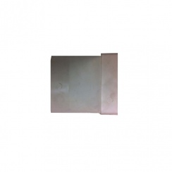 FLAT DUCT ROUND TO FLAT BEND WHITE 040 WITH