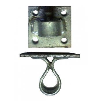 Your Diy Shop Galvanised 4 Hole Bolt on Gate Hanger