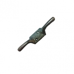 Galvanised Double Bolt on Cleat Hook