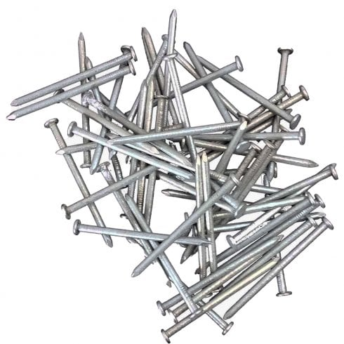 Your DIY Shop GALVANISED Nails 2 to 6 inch, for use Outdoor, Indoor, Decking, Fencing & Building