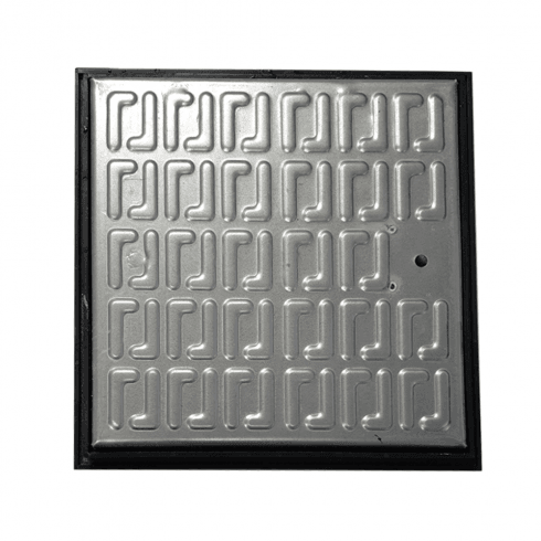 Your DIY Shop Galvanised Pedestrian Use Manhole Cover 265x265x30mm