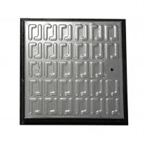Galvanised Pedestrian Use Manhole Cover 265x265x30mm