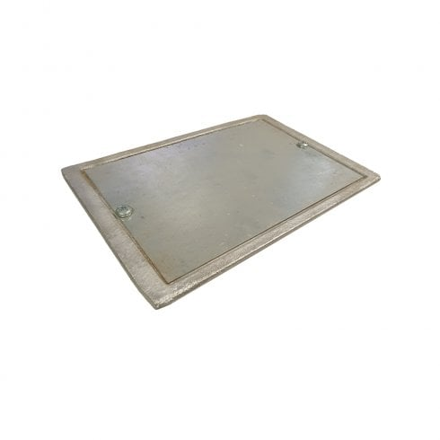 Your DIY Shop Galvanised Soot Plate 9 x 6