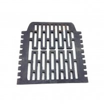 "Gercross Cast Iron Bottom Fire Grate for 16"" Fireplace Opening"