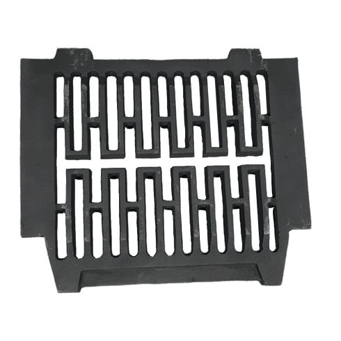 """Your DIY Shop Gerkros Cast Iron Bottom Fire Grate for 18"""" Fireplace Opening"""