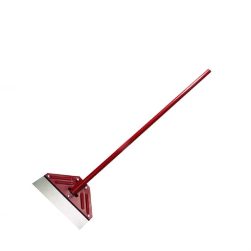 "Your DIY Shop Heavy Duty Floor Scraper 13"" Blade Red"