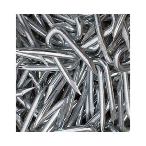 Your DIY Shop Heavy Duty Galvanised U Nail Staples for Fencing, Chicken Netting etc