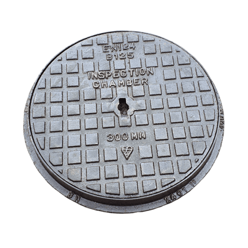 Your DIY Shop Inspection Chamber Cover and Frame - Ductile Iron 300mm