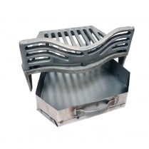 "Joyce Fire Grate, Coal Guard and Ashpan for 16"" Fireplace Opening"