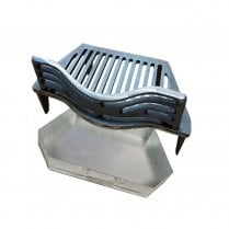 """Joyce Fire Grate, Coal Guard and Ashpan for 18"""" Fireplace Opening"""