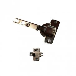 Kitchen Cabinet Hinge - 90 Degrees - Includes Plate