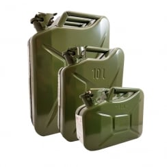Metal Jerry Can - 3 Sizes Available