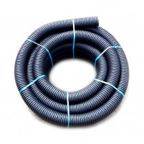 Perforated pipes supplied in coils for drainage 100mm X 25metre land drain