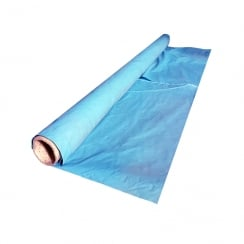 Polythene Sheeting 4 X 25M X 150Mu Blue Tint