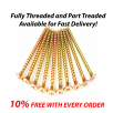 Your Diy Shop Professional Yellow Wood Screw POZI Countersunk