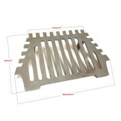 "Queen Star Fire Grate 16"" - 2 Legs"