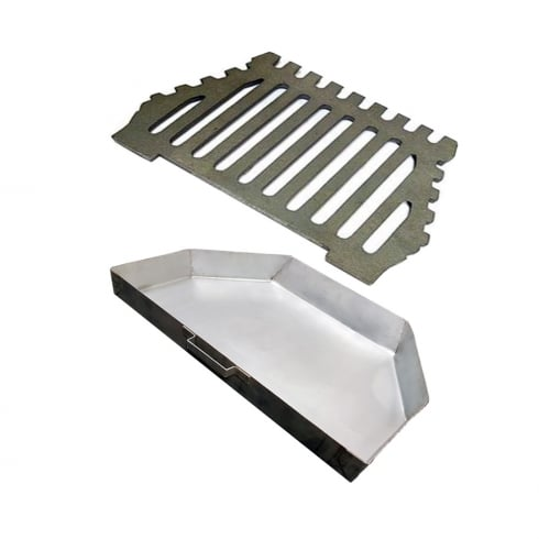 Your DIY Shop Queen Star Flat Grate and Ashpan Set (2 Sizes)