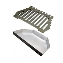 Queen Star Flat Grate and Ashpan Set (2 Sizes)