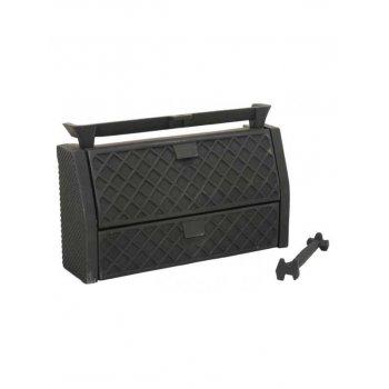 "Queenstar All Night Burner Solid Fuel Open Fire Kit Coal or Wood 16/"""