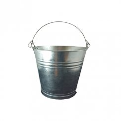 "R/TOWER GALVANISED BUCKET 12"" 13LT"