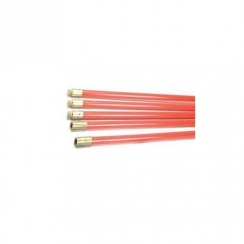 Red Drain Rods / Chimney Rods (Pack of 5)
