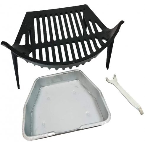 Your DIY Shop Round Bow Grate, Ashpan and Lifting Tool Set