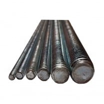 Threaded Steel Bar 1 meter (Various Thicknesses)