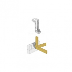 Timber to Masonry Joist Hanger - 225mm x 50mm - Pack of 2