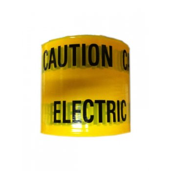 YDS Yellow Electric Cable Caution Tape - 365m Roll