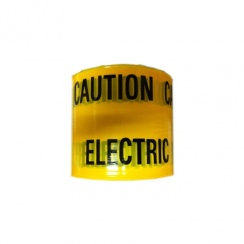 Yellow Electric Cable Caution Tape - 365m Roll