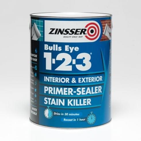 Zinsser Bulls Eye 1-2-3/ Primer Sealer Stain Killer (Various Sizes)