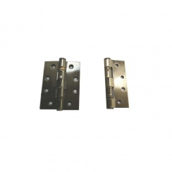 "Zoo Hardware 4"" Polished Bronze Ball Bearing Hinges"